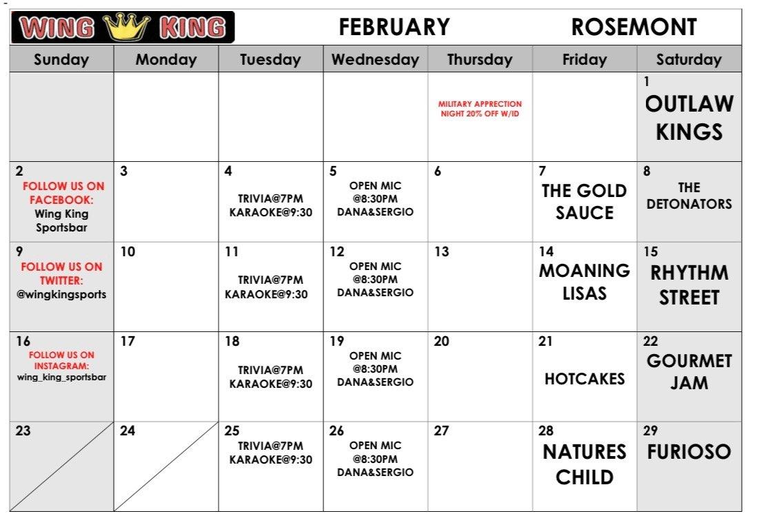 Rosemont Feb 2020