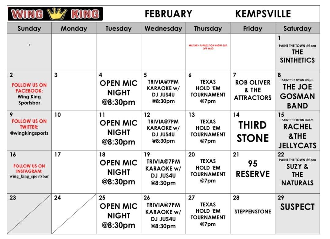 WingKing Kempsville Feb 2020
